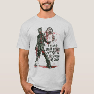 Zombie Cup of Joe T-Shirt