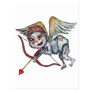 Zombie Cupid Postcard