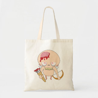 Zombie Cupid Totes Canvas Bags