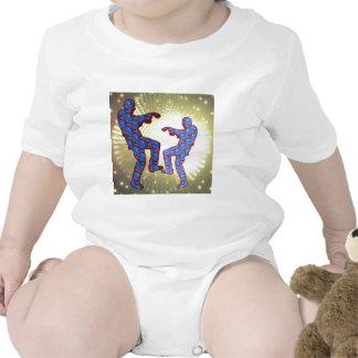 ZOMBIE DANCE - FOCUS MOON backdrop Baby Bodysuit