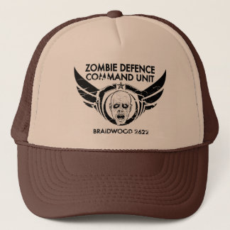 ZOMBIE DEFENCE COMMAND UNIT - 2622 TRUCKER HAT