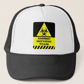 Zombie Defense Team Trucker Hat