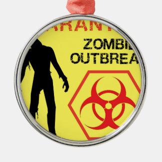 Zombie Design Christmas Ornament