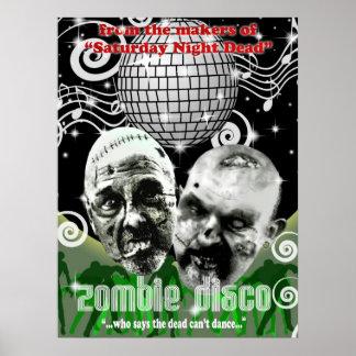 zombie disco poster