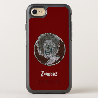 Zombie Distressed Looking Graphic OtterBox Symmetry iPhone 7 Case