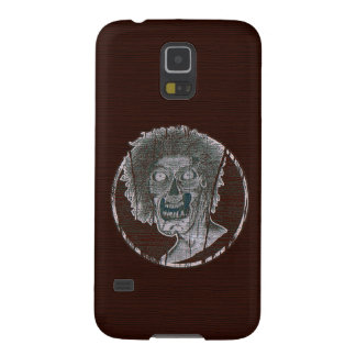 Zombie Distressed Looking Graphic Red/Grey Galaxy S5 Cases