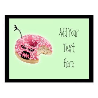 Zombie Doughnut Postcard
