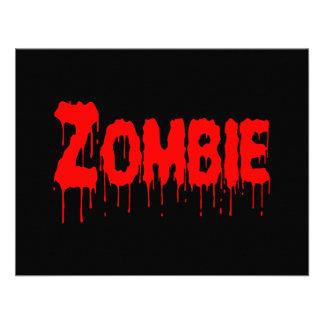 Zombie Drip Custom Invites