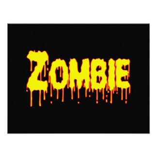 Zombie Drip Invitation