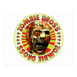 Zombie Dross Post Card