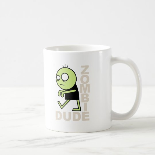 Zombie Dude Coffee Mug