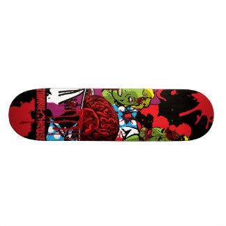 Zombie Eat Brains Skateboard