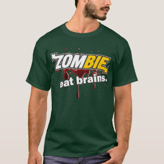 Zombie - Eat Brains T-Shirt