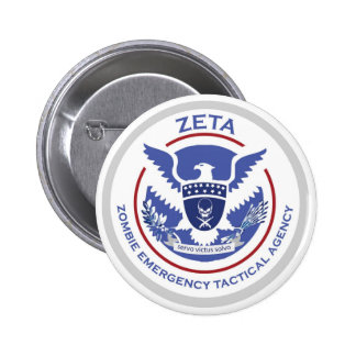 Zombie Emergency Tactical Agency Badge
