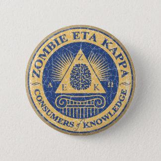 Zombie Eta Kappa 6 Cm Round Badge