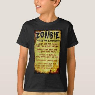 Zombie Etiquette T-Shirt