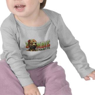 Zombie Etiquette Tshirts