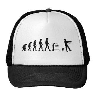 Zombie Evolution Trucker Hats