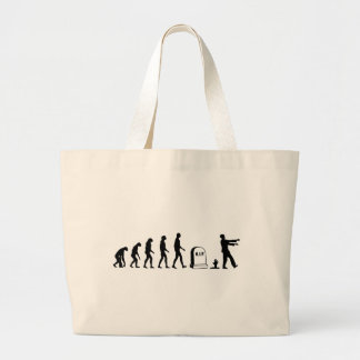 Zombie Evolution Jumbo Tote Bag