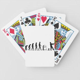 Zombie Evolution Poker Cards