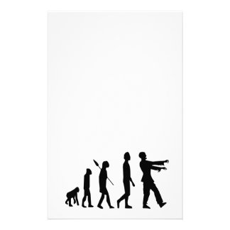 Zombie Evolution Stationery