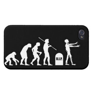 Zombie Evolutionary evolution chart funny science iPhone 4 Cover