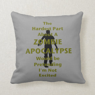 Zombie Excited Cushion