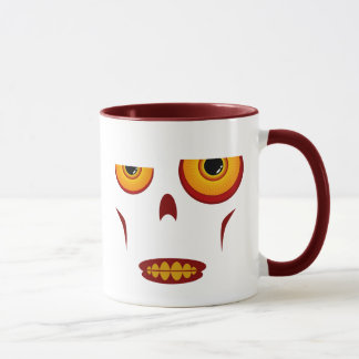 Zombie Face - Clenched Teeth Mug