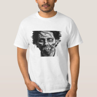 Zombie Face Mens Tee Shirt