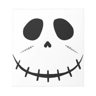 Zombie Face Notepad
