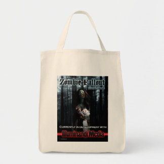 Zombie Fallout Cloth Grocery tote Grocery Tote Bag