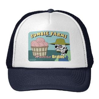 Zombie Farms Fruit Crate Label Trucker Hat
