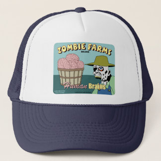 Zombie Farms Fruit Crate Label Trucker Hat