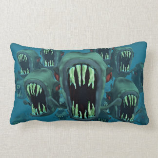 Zombie Fish Lumbar Cushion