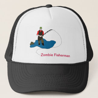 Zombie Fisherman Ball Cap