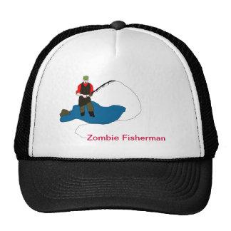 Zombie Fisherman Ball Cap Hats