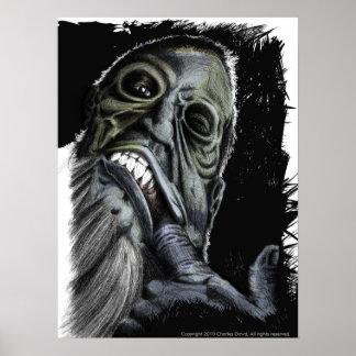 Zombie Fishhook Posters