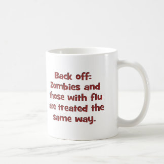 Zombie flu (sq) mug