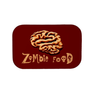 Zombie Food Brainz Brains Halloween Props Lunchbox