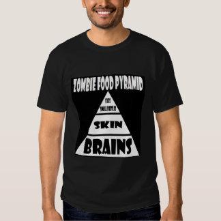 Zombie Food Pyramid Shirts
