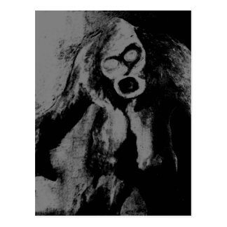 Zombie Freak Postcard