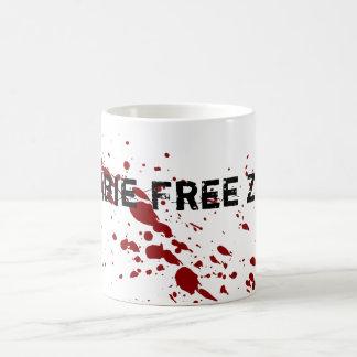 Zombie Free Zone Coffee Mug