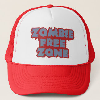 Zombie Free Zone hat - choose color