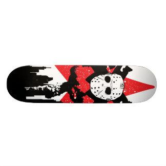 Zombie Free Zone Ski Mask Slayer Skateboard Decks