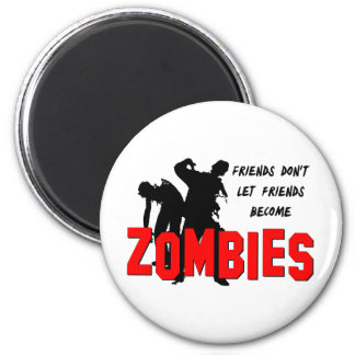 Zombie Friends Magnets