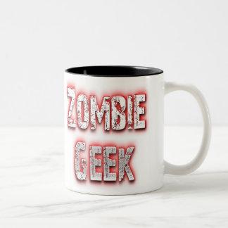Zombie Geek Red Mugs