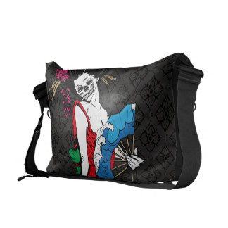 Zombie Geisha Commuter Bag