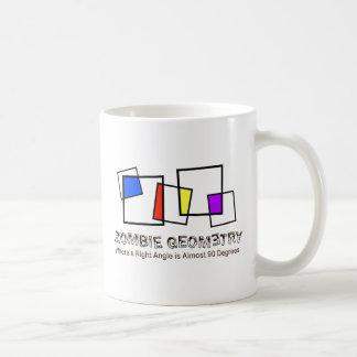 Zombie Geometry - Basic Basic White Mug