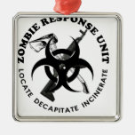Zombie Gift Response Team Gifts Customise Christmas Tree Ornament