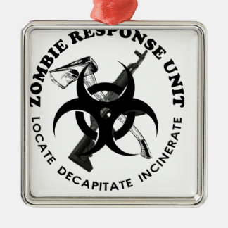 Zombie Gift Response Team Gifts Customize Christmas Ornament